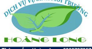 LoGo nhận diện thương hiệu công ty thông cống nghẹt Hoàng Long.