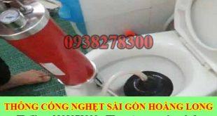 Công ty thông bồn cầu huyện Bình Chánh giá 99k