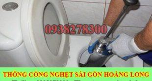 thông bồn cầu Ninh Thuận giá rẻ